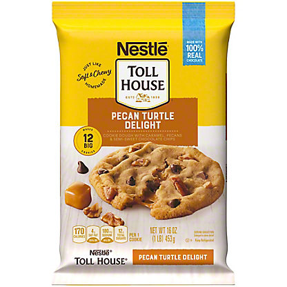 Nestle Toll House Ultimate Turtles Cookie Dough,16 oz