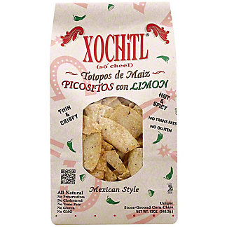 Xochitl Picositos Con Limon Tortilla Chips, 12 OZ