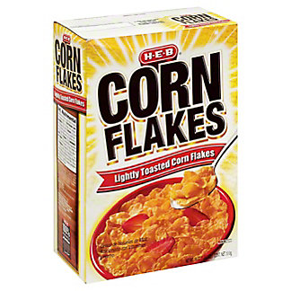 H-E-B Select Ingredients Corn Flakes Cereal, 18 oz