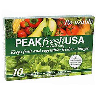 HAROLD IMPORT Peak Fresh Produce Bags, 10.00 ea