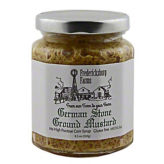 Fredericksburg Farms German Stone Ground Mustard, 9.5 oz