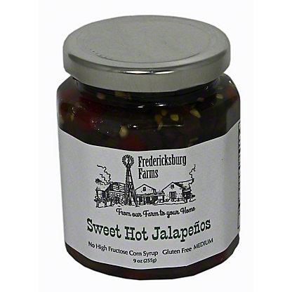 FREDERICKSBURG FARMS Sweet and Hot Jalapenos, 9.5 OZ