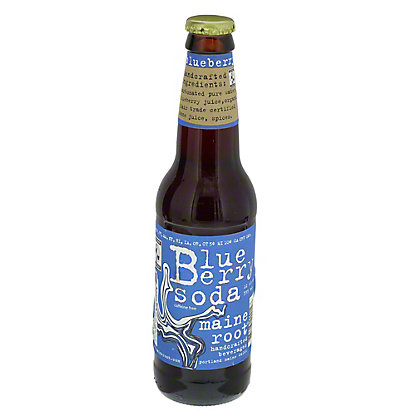 Maine Root Blueberry Soda Single,12 oz