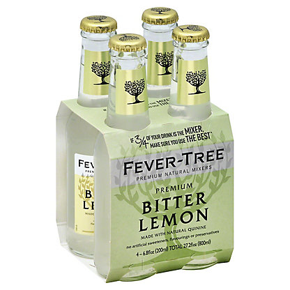 Fever Tree Premium Bitter Lemon,4/6.8 OZ