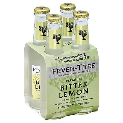 Fever Tree Premium Bitter Lemon,4/6.8 OZ