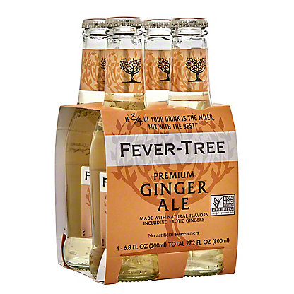 Fever Tree Premium Ginger Ale,4 PK