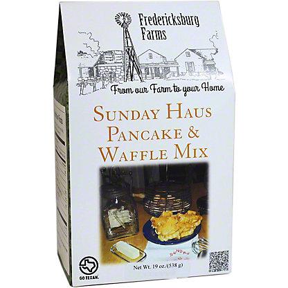 Fredericksburg Farms Sunday Haus Pancake/ Waffle Mix,19 oz