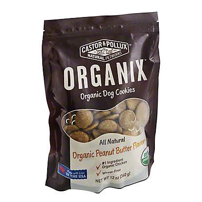 Castor & Pollux Organix Cheese Organic Dog Cookies,12 OZ