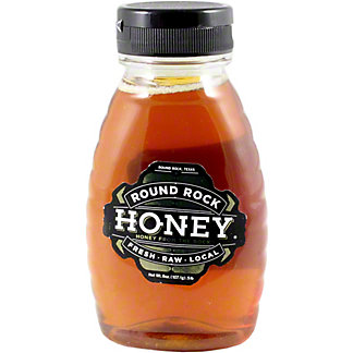 Round Rock Honey 1/2 lb jar, 8 OZ