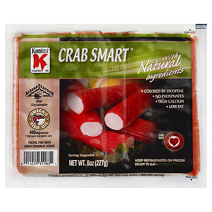 Kanimi Natural Crab Sticks,8 OZ