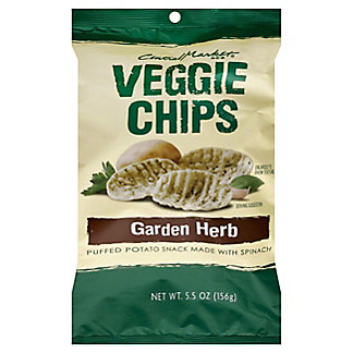 Central Market Garden Herb Veggie Chips, 5.5 oz