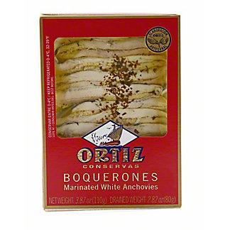 Ortiz Conservas Boquerones Marinated White Anchovies, 120 G