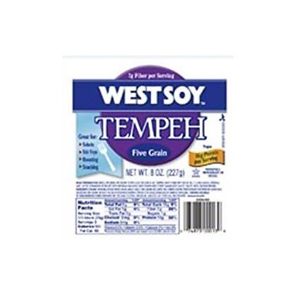 West Soy Tempeh Five Grain,8 OZ