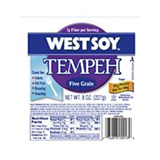 West Soy Tempeh Five Grain,8 OZ