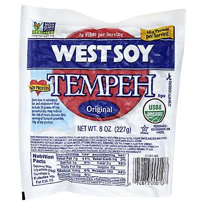 WestSoy Original Tempeh,8 OZ