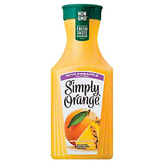 Simply Orange 100% Orange with Pineapple Juice Blend,59.00 oz
