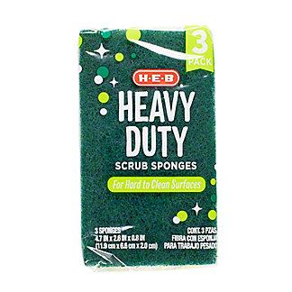 H-E-B Heavy Duty Scrub Sponges,3 CT