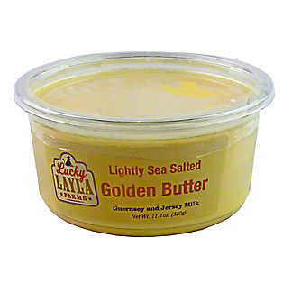 Lucky Layla Farms Lightly Sea Salted Golden Butter, 11.4 oz