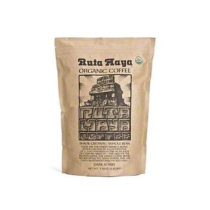 Ruta Maya Organic Dark Roast Whole Bean Coffee,2.2 LB