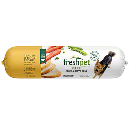 Freshpet Select Slice And Serve Adult Chicken Vegetable And Rice Recipe Dog Food, 6 lb