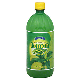 Pampa Lemon Juice,32 OZ
