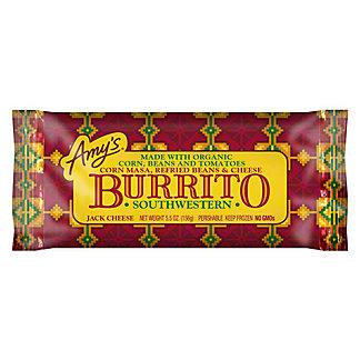 Amy's Southwestern Burrito,5.5 oz