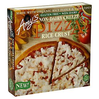 Amys Organic Single Serve Pizza Rice Crust, 6 OZ