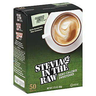 Stevia in the Raw Zero Calorie Sweetener Packets,50 CT