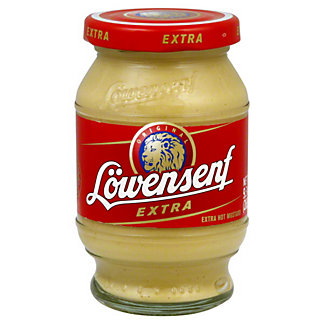 Lowensenf Extra Hot Mustard,9.3 OZ