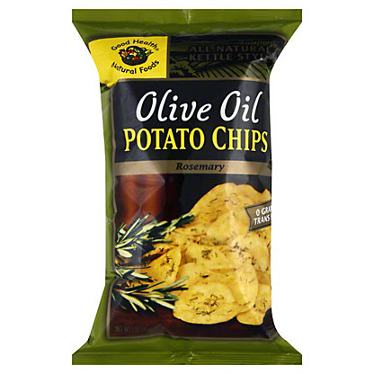 Good Health Natural Foods Olive Oil Rosemary Potato Chips,5 OZ