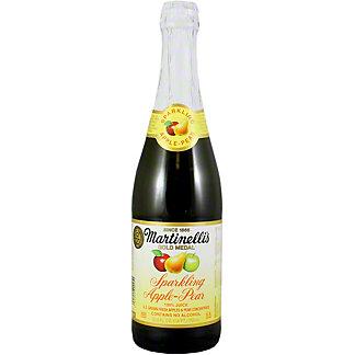 Martinellis Gold Medal Sparkling Apple Pear Juice, 25.4 oz