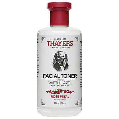 Thayers Thayer Witch Hazel Toner Alcohol Free,12 OZ