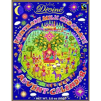Divine Advent Calendar Milk Chocolate, ea