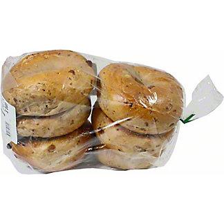 Central Market Boiled Bagels Cinnamon Raisin 6 Pack, 24 oz