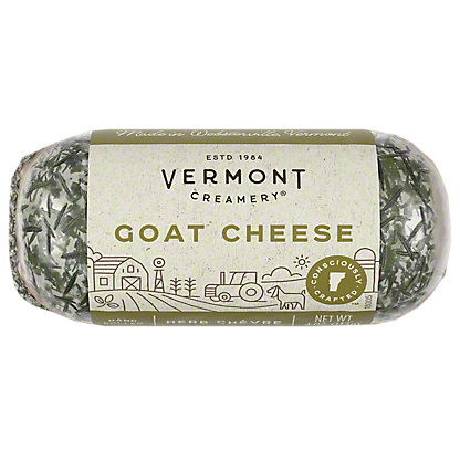 Vermont Creamery Fresh Goat Cheese - Herb Chevre,4 OZ