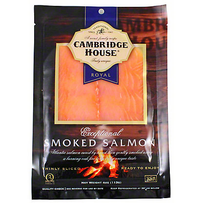 Cambridge House Exceptional Smoked Salmon, 4 oz