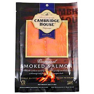 Cambridge House Exceptional Smoked Salmon, 4 oz