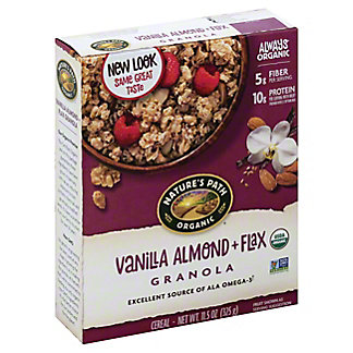 Nature's Path Organic Flax Plus Vanilla Almond Granola, 11.5 oz
