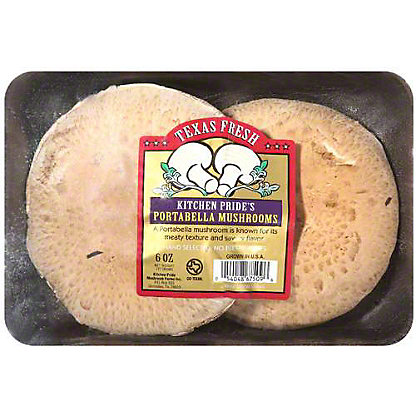 Kitchen Pride Texas Fresh Portabella Mushrooms,6 OZ