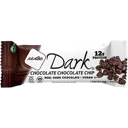 NuGo Dark Chocolate Chocolate Chip Bar,1.76 oz