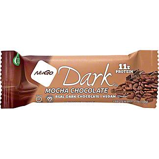 NuGo Dark Mocha Chocolate Bar,1.76 oz