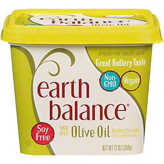 Earth Balance Earth Balance Olive Oil Buttery Spread,13 oz