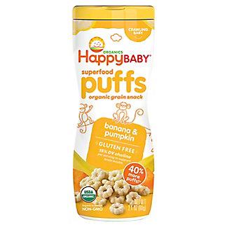 Happy Baby Organics Organic Banana Puffs, 2.1 oz