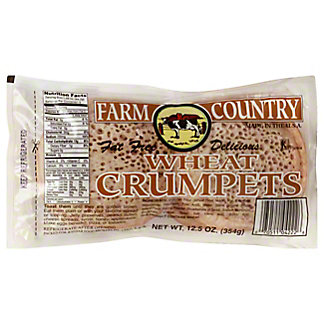 Farm Country Wheat Crumpets,12.5OZ