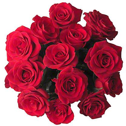 Central Market Dozen Roses, 40cm