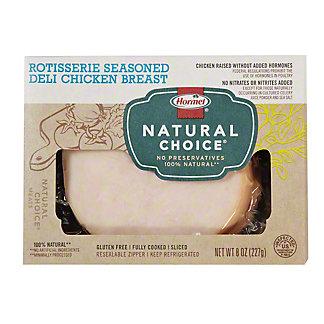 Hormel Naturals Rotisserie Seasoned Deli Chicken Breast,8 OZ