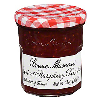 Bonne Maman Apricot Raspberry Preserves,13.00 oz