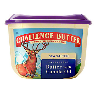 Challenge Spreadable Butter with Canola Oil, 15 oz