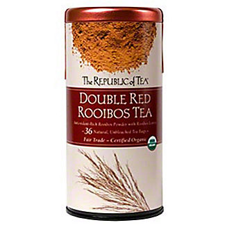 The Republic of Tea Organic Double Red Rooibos Tea Bags,36 CT