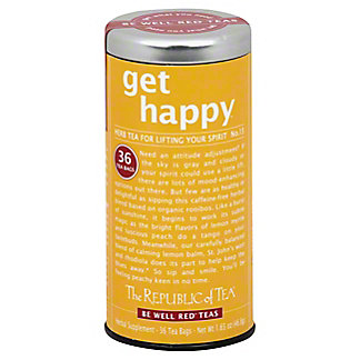 The Republic of Tea Get Happy Tea Bags for Lifting Your Spirits, 36 ct